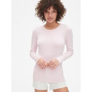 Modern Long Sleeve Crewneck T-Shirt