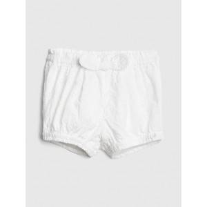 Eyelet Bubble Shorts