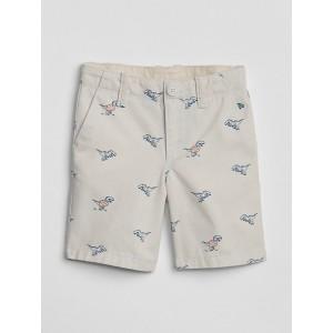 Dino Khaki Shorts