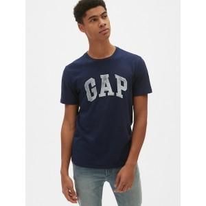 Logo Short Sleeve Crewneck T-Shirt in Slub Cotton