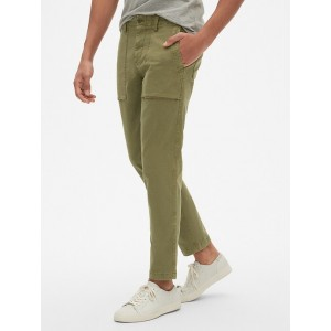 Utility Khakis in Slim Tapered Fit with GapFlex