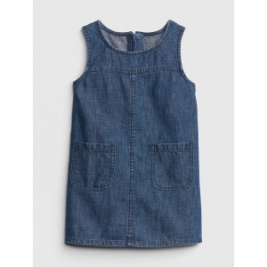 Denim Tank Shift Dress