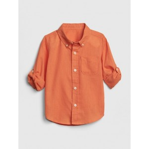 Convertible Shirt in Linen