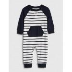 Baby Stripe Raglan One-Piece