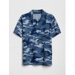 Camo Short Sleeve Polo Shirt