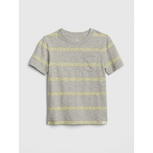 Graphic Stripe Short Sleeve T-Shirt