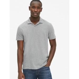 Slub Jersey Polo Shirt