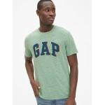 3D Overlap Logo Crewneck T-Shirt