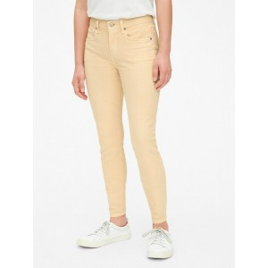 Mid Rise True Skinny Ankle Jeans in Color