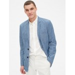 Casual Classic Blazer in Chambray