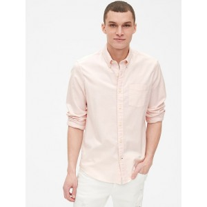 Untucked Oxford Shirt in Stretch