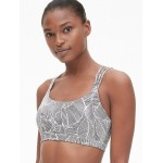GapFit Eclipse Medium Support Strappy Sports Bra
