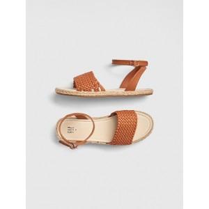 Kids Woven Espadrille Sandals