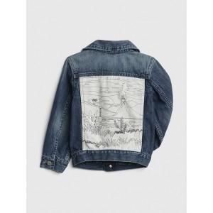 Volcano Icon Denim Jacket