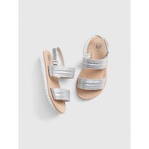 Glitter Strappy Sandals