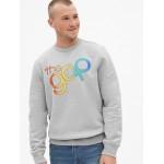 Gap + Pride Logo Crewneck Sweatshirt