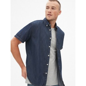 Wearlight Denim Short Sleeve Shirt