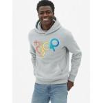 Gap + Pride Logo Pullover Hoodie