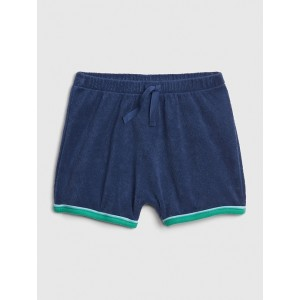 Baby Pull-On Shorts in Towel Terry