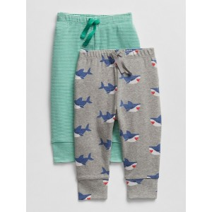 Baby Shark Pull-On Pants (2-Pack)