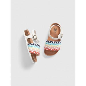 Braided-Rope Sandals