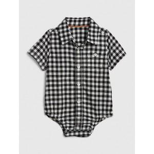 Baby Gingham Bodysuit