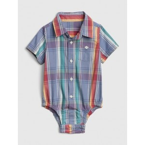 Baby Plaid Bodysuit