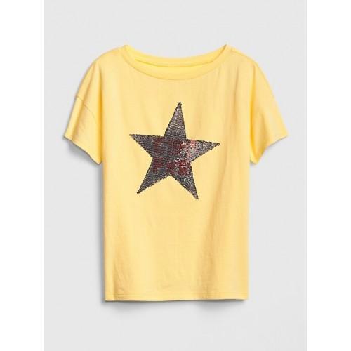갭 Kids Flippy Sequin T-Shirt