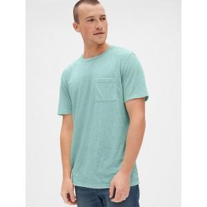 Marled Pocket T-Shirt