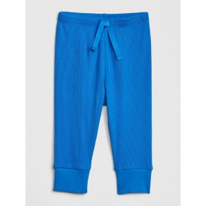 Baby Ribbed Pull-On Pants