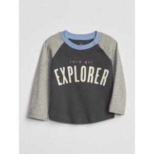 Baby Graphic Raglan T-Shirt