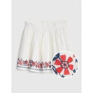 Kids Embroidered Flippy Skirt