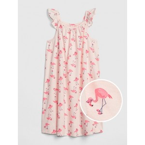 Kids Flamingo PJ Dress