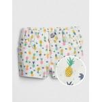 Toddler Pineapple Shortie Shorts