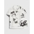 Baby Print Short Sleeve Shirt