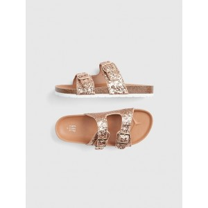 Kids Glitter Cork Sandals