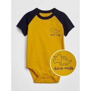 Baby Graphic Raglan Bodysuit