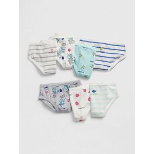 Toddler Print Days-of-the-Week Bikinis (7-Pack)