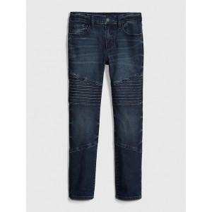 Kids Superdenim Moto Skinny Jeans with Fantastiflex