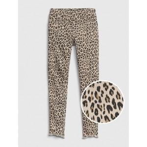 Kids Superdenim Leopard Ankle Jeggings