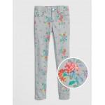 Kids Superdenim Floral Skinny Jeans