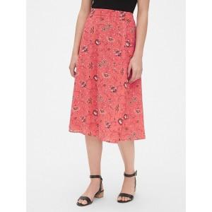 Swing Midi Skirt