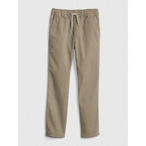 Kids Canvas Pull-On Pants