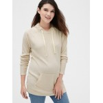 Maternity Softspun Ribbed Funnel-Neck Sweater Tunic