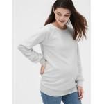 Maternity Cozy Crewneck Sweatshirt