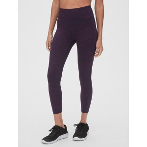 GapFit High Rise Blackout Spacedye 7/8 Leggings