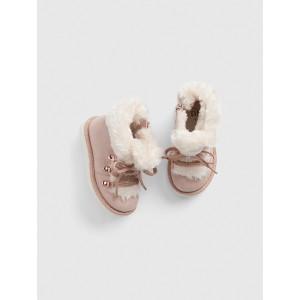 Toddler Faux-Fur Boots