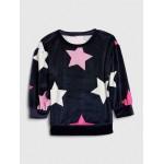Toddler Star Plush Sweatshirt