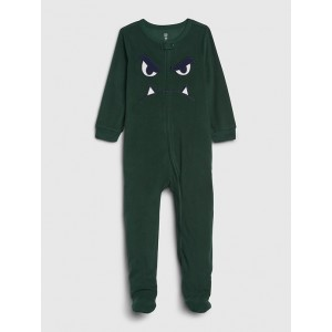 babyGap Monster PJ Footed One-Piece