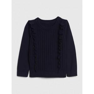 Toddler Cascade Ruffle Sweater
